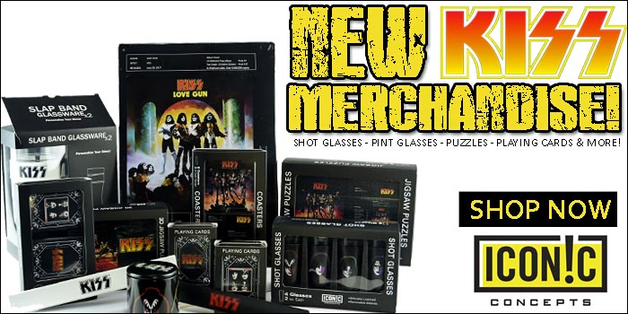 Wholesale Iconic Concepts KISS Shot Glasses, KISS Pint Glasses, KISS Puzzles & More!